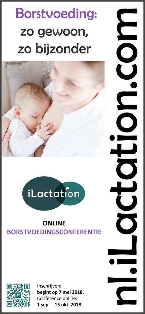 Flyer  conferentie - Borstvoeding: zo gewoon, zo bijzonder
