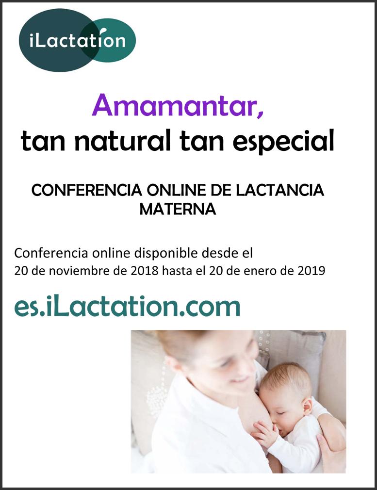 Programa de la conferencia - Amamantar, tan natural tan especial