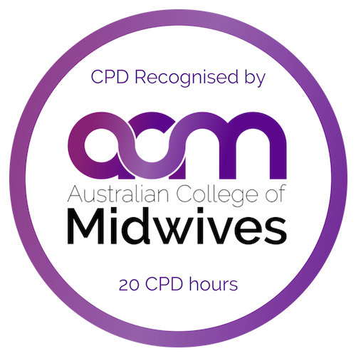 Australian College of Midwives 20 CPD points