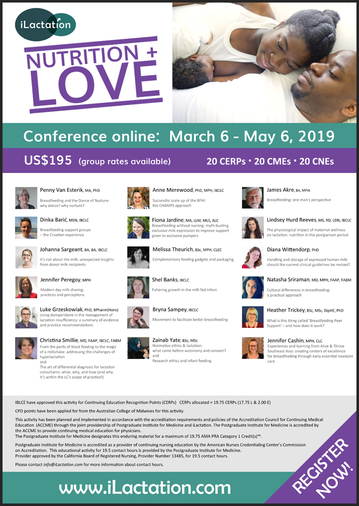 Conference poster - Nutrition + Love