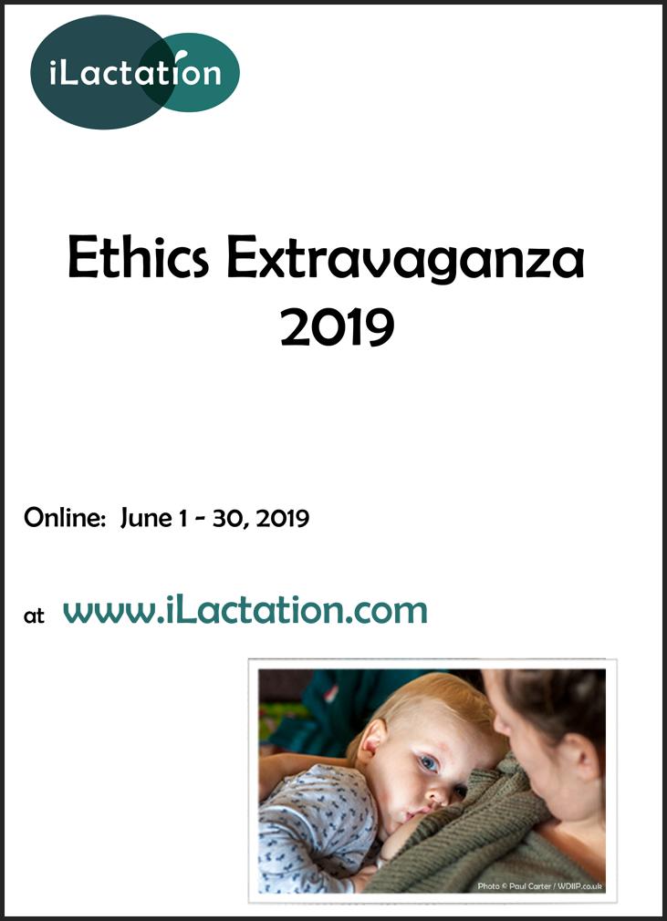 Ethics Extravaganza 2019 programme