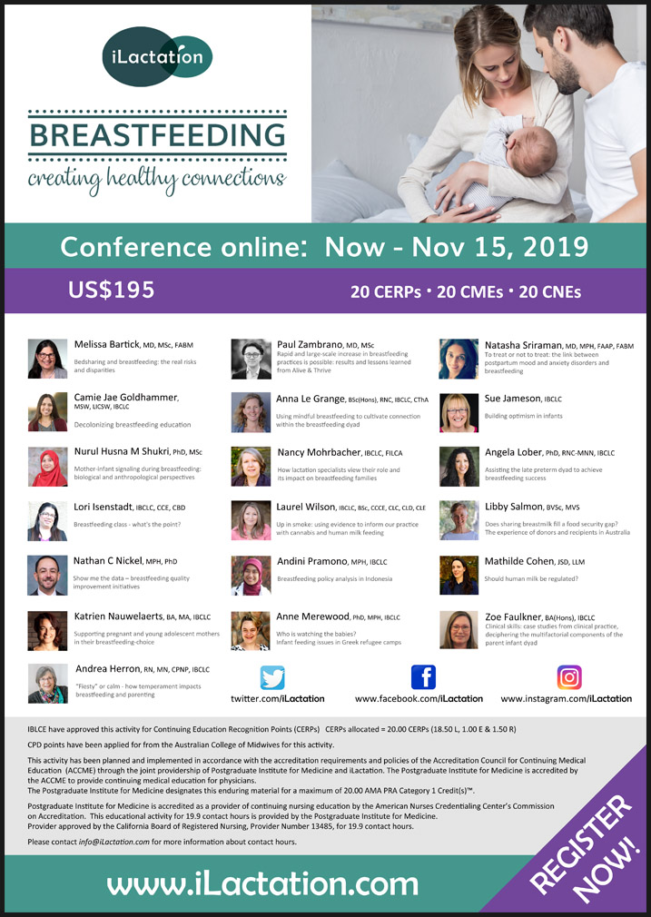 Conference poster - Breastfeeding: creating healthy connections
