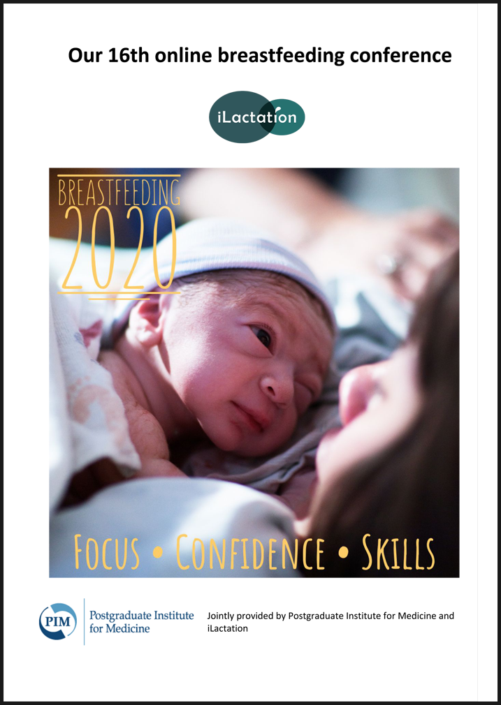 Conference programme - Breastfeeding 2020: Focus • Confidence • Skills