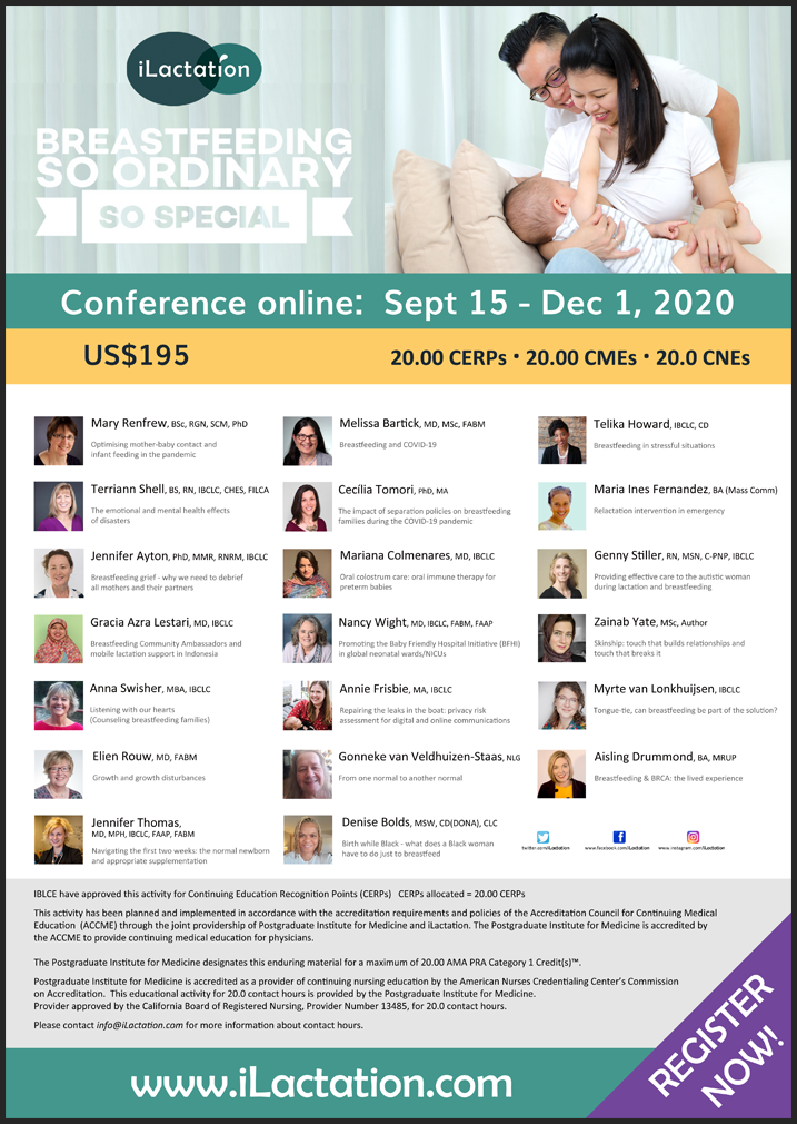 Conference poster - Breastfeeding: so ordinary, so special