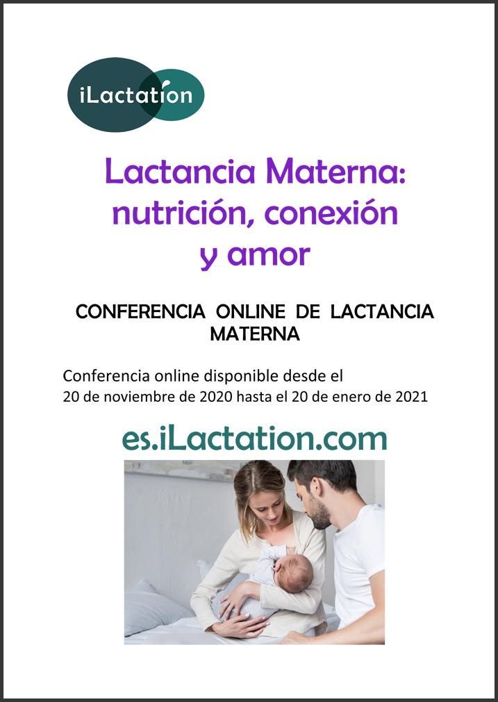 Programa de la conferencia - Lactancia Materna: nutrición, conexión y amor