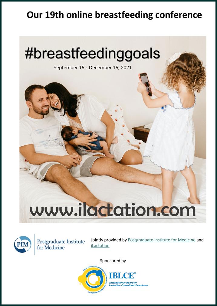 Conference programme - #breastfeedinggoals
